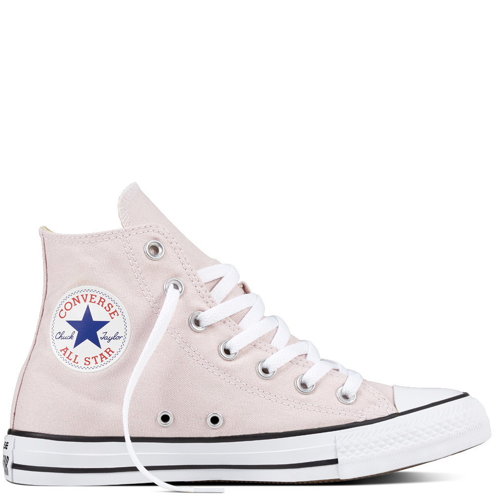 Zapatillas de bota rosa pálido de CONVERSE