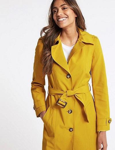 """Gabardina """"Stormwear"""" disponible hasta en 7 colores. ¡Un must de la firma! Marks & Spencer"""